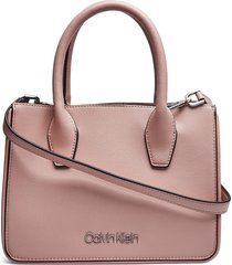 assorted sml tote, b bags top handle bags roze calvin klein