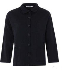 kort overhemd spring zwart