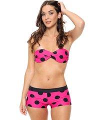 bikini multicolor lecol talles reales silvia