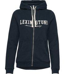 kimberly hood hoodie trui blauw lexington clothing