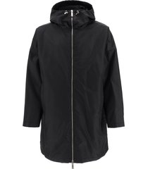 dsquared2 parka with logo print