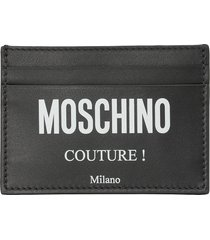 moschino couture credit card holder