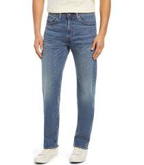 men's levi's 505(tm) regular fit straight leg jeans, size 38 x 34 - blue