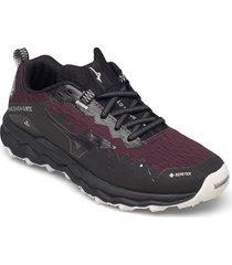 wave daichi 6 gtx shoes sport shoes running shoes röd mizuno