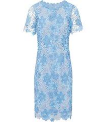 jurk met korte mouwen van basler blauw