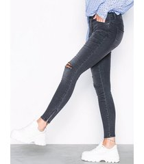 noisy may nmkimmy nw ankle zip jeans az004mg jeans