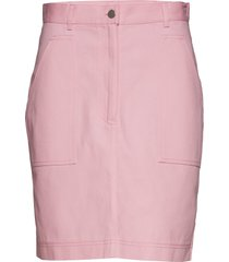 zen skirt knälång kjol rosa nué notes