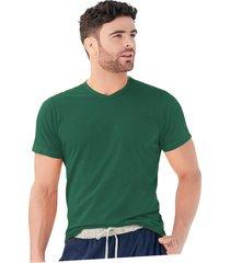 camiseta adulto masculino verde militar marketing  personal