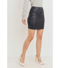 ladie's sparkle coated skirt