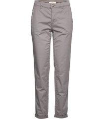 pants woven byxa med raka ben grå esprit casual