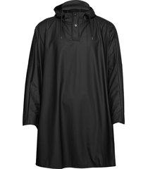 cape regenkleding zwart rains