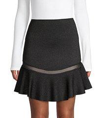 lisbeth knit ruffle skirt