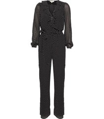 macacã£o michael kors mini mod wrap preto - preto - feminino - dafiti