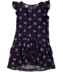 vestido florentina color azul oscuro