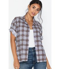 motel hawaian shirt blusar & skjortor