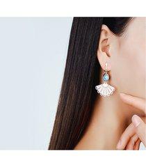 orecchini vintage ear drop hollow fan geometric bead nappa orecchini pendenti gioielli etnici per le donne