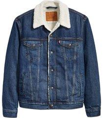 type 3 sherpa denim trucker jacket
