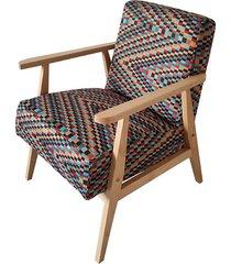 fotel prl buk w tkaninie barcelona