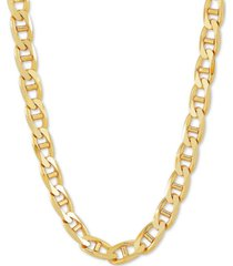 "mariner 22"" chain necklace in 18k gold-plated sterling silver"
