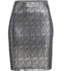 gonna metallizzata (argento) - bodyflirt