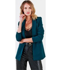 blazer forrado verde night concept