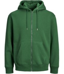 jack & jones men's long sleeve full zip hoodie