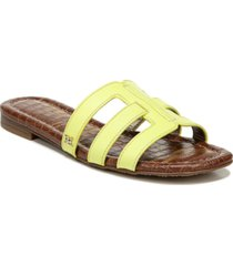 sam edelman bettie logo slide sandals women's shoes