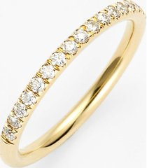 women's bony levy stackable large straight diamond band ring (nordstrom exclusive)