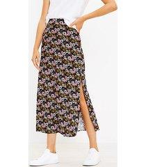 loft floral maxi skirt