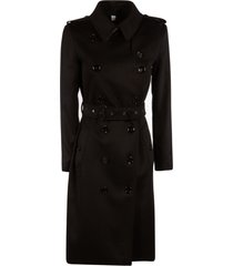 burberry double-breasted mid-length dress