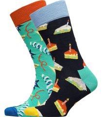 birthday gift box underwear socks regular socks multi/mönstrad happy socks