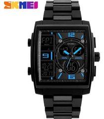 skmei 1274 reloj para hombre-azul