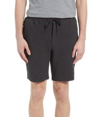 men's 7 diamonds restoration performance honeycomb knit drawstring shorts, size large - black