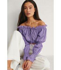 trendyol blus - purple