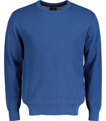 jac hensen pullover - extra lang - blauw