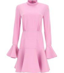 patou short flounce dress