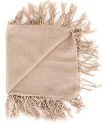 grain cashmere and silk scarf
