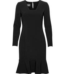 boutique moschino dress jurk knielengte zwart boutique moschino