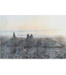 "sharon chandler sand castle ii canvas art - 37"" x 49"""