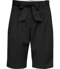 longer length tailored shorts bermudashorts shorts svart scotch & soda