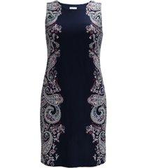 charter club paisley-print sleeveless dress, created for macy's