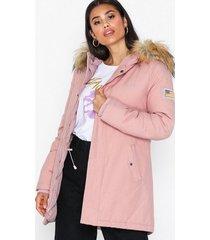 svea miss lee jacket dunjackor ljus rosa