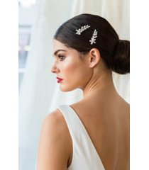 brides & hairpins sona set of 2 hair clips