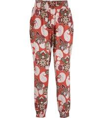 pantaloni in jersey fantasia (marrone) - bpc bonprix collection