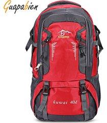 mochila/ senderismo al aire libre escalada montañismo-rojo