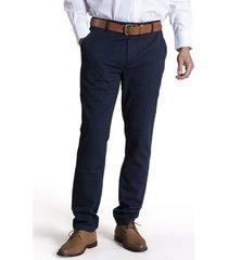 pantalón algodón panal azul rockford