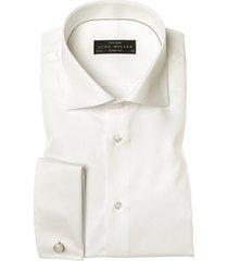 john miller overhemd slim fit ecru french cuff