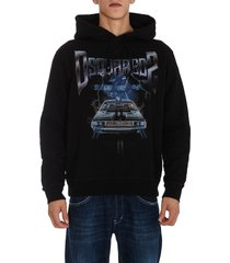 dsquared2 d2 space cool hoodie