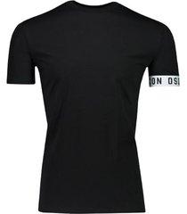 dsquared2 shirt zwart/wit