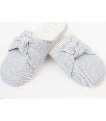 zapatilla nudo slippers azul bbz barbizon